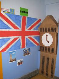 Resultat d'imatges de Class Decoration, School Decorations, France Craft, British Values, Beatles, English Time, English Classroom, Eyfs, Union Jack