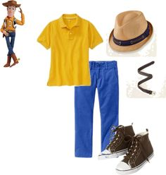 Woody Inspired Kids Outfit