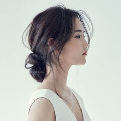 Short Hair Styles Easy, Cute Hairstyles For Short Hair, Bride Hairstyles, Medium Hair Styles, Korean Hairstyles, Korean Hairstyle Long, Japanese Hairstyles, Ulzzang Hairstyle, Redhead Hairstyles