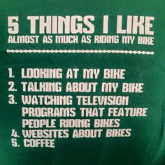 I do like my coffee #cycling #bike #ride #explore #exercise