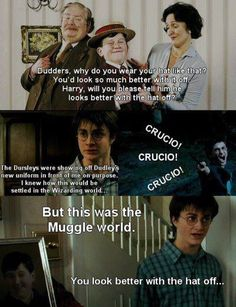 Harry Potter and Mean Girls reference