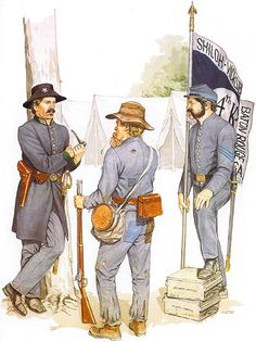1st Lt., 2nd Regt. SC Rifles - Private, Infantry - Sgt., 4th Kentucky Inf. Regt. (1864)