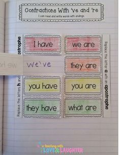 Teaching With Love and Laughter: First Grade Interactive Notebooks