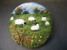 Handmade-needle-felted-brooch-Gift-Autumn-Berries-by-Tracey-Dunn