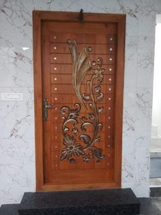Main Door Design Carving 52 New Ideas House Main Door Design, Front Door Design Wood, Double Door Design, Pooja Room Door Design, Bedroom Door Design, Door Design Interior, Wooden Door Design, Interior Exterior, Design Interiors