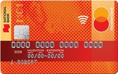 Credit Card is issued by National Bank. It is one of National Bank most accessible card with no annual fee. Card comes in handy for Debit Card Design, Credit Card Services, Credit Card Benefits, Capital One Credit Card, Online Login, Credit Card Application, Visa Card, Best Credit Cards, Credit Card Offers
