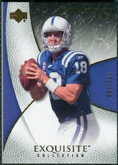 2007 Upper Deck Exquisite Collection #27 Peyton Manning /150 by Exquisite Collection. $25.95. 2007 Upper Deck Exquisite Collection #27 Peyton Manning /150