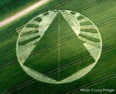 Lucy Pringle's Crop Circle Photograph