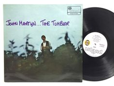 "John Martyn... The Tumbler ILPS-9091 Pink Island ""Eye"" Label LP #Vinyl Record"