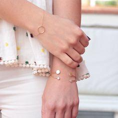 Pulseras de plata 925 de www.nuups.com // Sterling silver bracelets by nuups