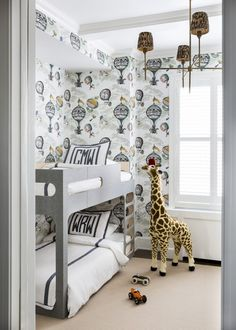 Our Perludi Bunk Bed spotted in this gorgeous home. LDV Exclusive: Modern Meets Traditional on Park Avenue Girls Bedroom, Bedroom Decor, Bedroom Ideas, Teen Bedrooms, Master Bedroom, Design Blog, Design Art, Design Ideas, Kids Room Design