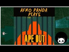 "This game is all about primal escape, rhythmic violence and frenetic jazz! Join me trying out the demo of the in-development game called ""APE OUT"". The indie. Pandas Playing, Indie Games, Youtube, Youtubers, Youtube Movies"