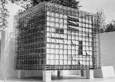 Design for Zachęta gallery extension, 1958, by Oskar Hansen, Lech Tomaszewski, Stanisław Zamecznik.