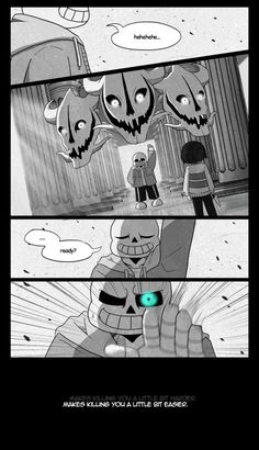 "ashiael: Why do people keep drawing Sans as some crybaby? Personally, I think Sans is the type who'll get consumed with anger. I mean, sure, the sadist in me enjoyed seeing Sans crying but c'mon guys, its out of character an-…… Did I just answered my own question? EDIT: Lemme explain myself for a bit. Perhaps the word ""crybaby"" was a bit harsh. But truthfully, Sans didn't struck me as a character who will cry easily, no matter how much shit he's been through. I know he's been to hell and..."