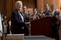 """""""Critics claim that your energy bills will skyrocket. Well, they're wrong,"""" McCarthy told a crowd at EPA's headquarters. Departing from her prepared remarks, she added, to laughter and applause, """"Shall I say that again? They're wrong."""""""