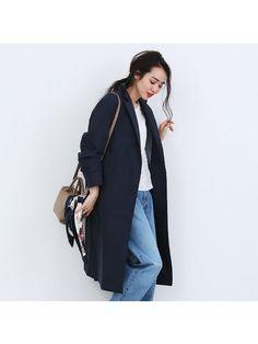 【完全防水】ウォータープルーフコート Duster Coat, Bomber Jacket, Jackets, Fashion, Sun, Down Jackets, Moda, Fashion Styles, Fashion Illustrations