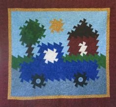 Cute Farm Twist (link  to quilt pattern store)