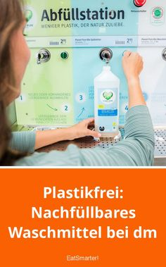Plastic-free: Refillable detergent in dm Diy Apps, Fitness Motivation, Fitness Workouts, Health Care Reform, Green Life, Good To Know, Fitness Inspiration, Sustainability, Hacks