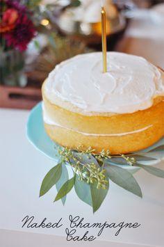 Recipe File: Champagne Cake - theglitterguide.com