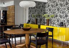 Decor Salteado - Blog de Decoração e Arquitetura : Tendência: Amarelo como ponto de cor na decoração!