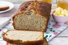Ginger Banana Bread Odlums Recipes, Irish Recipes, Cooking Recipes, Wholemeal Bread Recipe, High Fibre, Bread Oven, Porridge Oats, Banana Bread Recipes, Meals For The Week