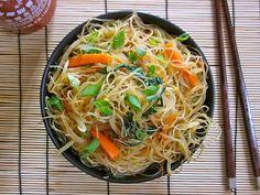 Singapore Noodles, Rice Vermicelli