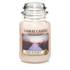 Lake Sunset Large Jar