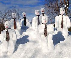 Snowman Acapella Practice