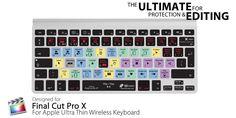 Final Cut Pro X Ultra Thin Wireless Cover