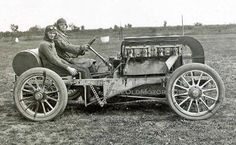 The 1906 Frayer-Miller Racing Car | The Old Motor