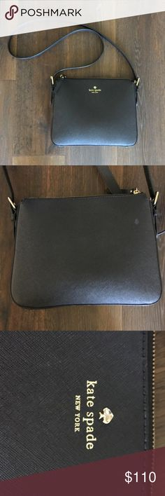 Women's Black Kate spade Purse Great used condition! kate spade Bags Crossbody Bags
