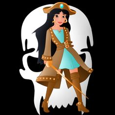 Next in the series of disney princess pirates   Her ship is called the Aegean Goddess    The others: Snow white:willemijn1991.deviantart.com/a…  Ariel: willemij...