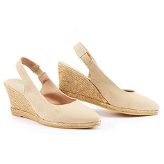 For the Pied A Terre 'Imperia' Wedges - Natural