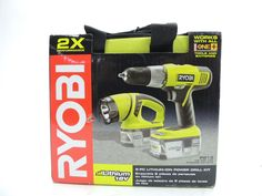 Go For That Accurate Drilling With Ryobi Power Drill Kit