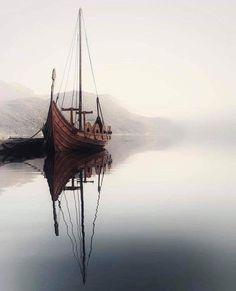 Vikings ⚔️ TAG someone that would love this 😍 Sandane, Norway 🇳🇴 photo by Vikings Art, Viking Aesthetic, Norwegian Vikings, Norway Nature, Nature Landscape, Viking Ship, Its A Mans World, Jolie Photo, Sailing Ships