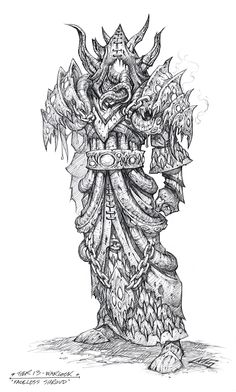 MMO-Champion - World of Warcraft News and Raiding Strategies Warcraft 3, World Of Warcraft, Comic Style Art, Comic Art, Fantasy Drawings, Fantasy Art, Armor Concept, Concept Art, Cthulhu Art