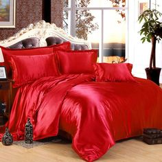 Cheap bed sheet quilt, Buy Quality purple silk comforter directly from China silk comforter sets Suppliers: Purple Silk Comforter sets Satin Bedding set sheets duvet cover bedspread linen King size Queen Twin Full bed sheet quilt Lilac Bedding, 3d Bedding Sets, Satin Bedding, Queen Bedding Sets, Duvet Bedding, Luxury Bedding, Cotton Bedding, Queen Duvet, Purple Duvet
