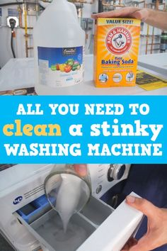 clean washing machine How To Clean Your Stinky Washing Machine