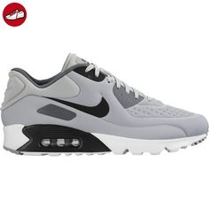 Nike Herren Air Max 90 Ultra Se Bässe, Grau (Wolf Grey/Black/Dark Grey/White), 45.5 EU (*Partner-Link)