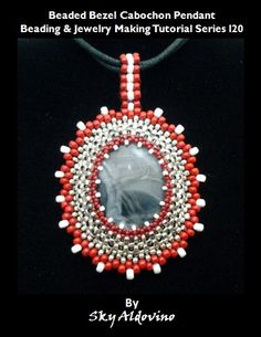 beaded bezel cabochon tutorial