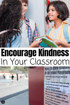 How to Encourage Kindness in Your Classroom is essential and non-negotiable. Here are some kindness tools teachers can use to teach kindness in your classroom Teaching Kindness, Kindness Activities, Learning Activities, Activities For Kids, Teaching Strategies, Back To School Hacks, School Tips, Books About Kindness, Kindness Challenge
