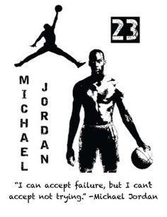 Michael Jordan Writing Prompt Posters