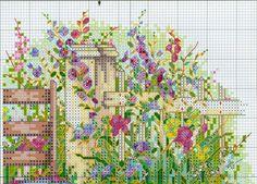 Мобильный LiveInternet В саду.Cross Stitch   чирикало - Дневник чирикало  