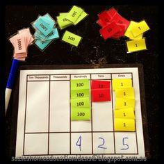 Suzie's Home Education Ideas: More Place Value Ideas