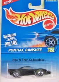 457 Pontiac Banshee 1996 Hot Wheels $2.10