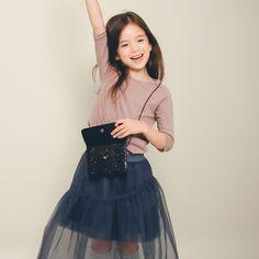 Little Girl Fashion, Fashion Kids, Korean Fashion, Cute Baby Girl, Cute Babies, Baby Kids, Kid Models, Korean Style, Kids And Parenting