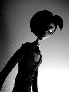 Corpse Bride (2005) Tim Burton.  Source: http://thenonsense.deviantart.com/art/Victor-van-Dort-46301995 ; I like this composition and how the shadows turned out. It gives the image a sort of horror-like, dark, suspense vibe.