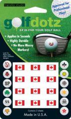 Canadian Flag Golf Dotz