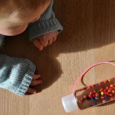 Verflixter Alltag: Ideen-Mittwoch: Babyspielzeug selber basteln