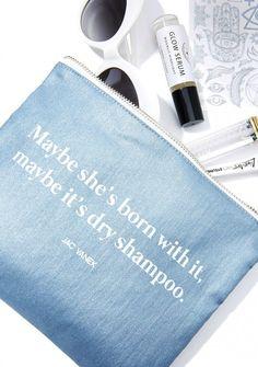 Jac Vanek It's The Shampoo Zip Pouch